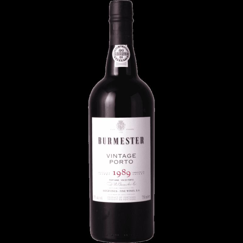 Portské víno Burmester Vintage 1989