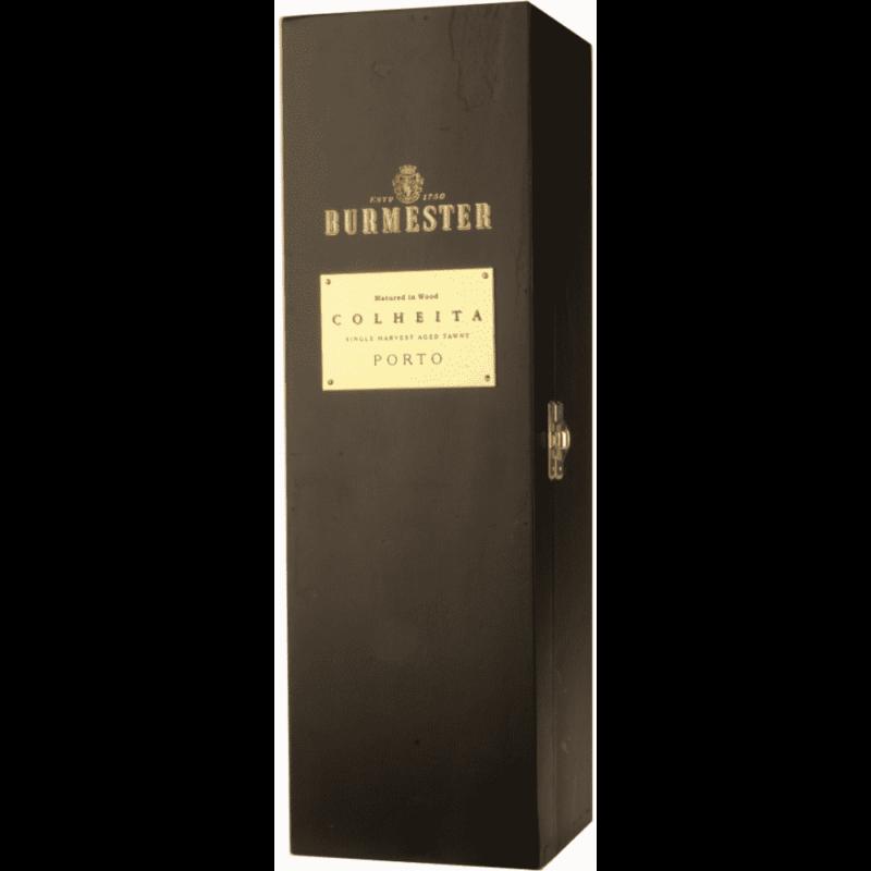 Portské víno Burmester Colheita 1963 - mahagonový kufr